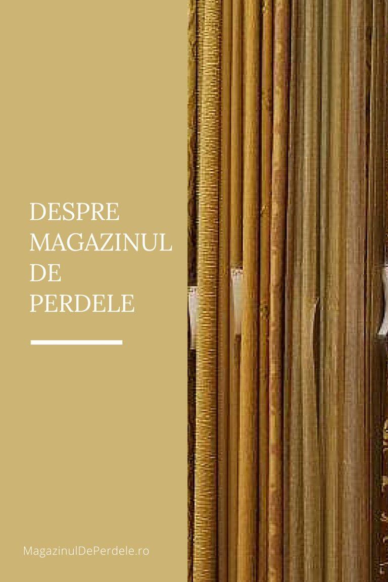 Despre Magazinul de Perdele